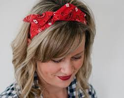 headband with bow wire headband etsy