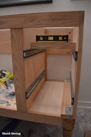 build a bathroom vanity per design diy drawers cabinet doors 5