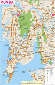 Maharashtra Blank Map by Mumbai City Map City Map Of Mumbai