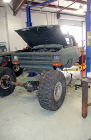 build dodge truck dirt every day tug truck build