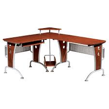 L Shaped Computer Table Techni Mobili Desk Appealing Computer Desk With Storage Space