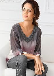 ombre blouse linea tesini ombre blouse by heine linea tesini bonprix