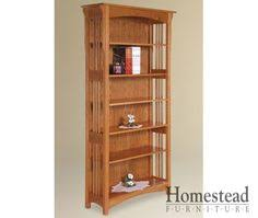 Mission Bookshelves by Amish Prairie Mission Bookcase Stains Beauty And Bookcases