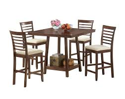 dining room tables chicago baxton studio kelsey modern pub set 5 piece modern dining set