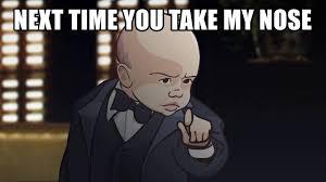 Baby Godfather Memes - nose baby godfather youtube