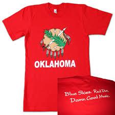 Flag Of Oklahoma Oklahoma Flag Shirts