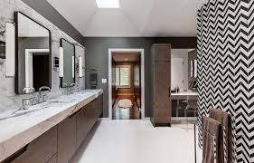 chevron bathroom ideas chevron pattern craze how to pull it at home