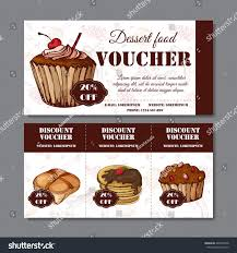element cuisine discount cafe discount voucher your business modern stock vector hd royalty