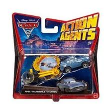 fin mcmissile disney pixar cars 2 agents finn mcmissile