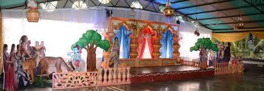 theme decor krishna theme decoration vaishnavi creations