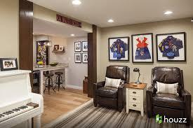 houzz basements basement modern with none basement renovation