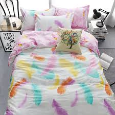 nursery beddings peacock feathers duvet cover set 100 cotton