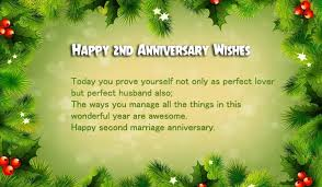Wedding Anniversary Wishes For Husband 2nd Marriage Anniversary Wishes For Husband Wishes4lover