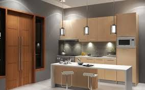 Bar Kitchen Cabinets by Wood Glass Floating Kitchen Cabinets Over Dark Grey Countertop