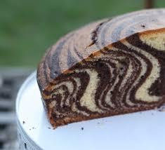 requia cuisine la gâteau zébré ou marbré zebra cake de lorraine pascale chez