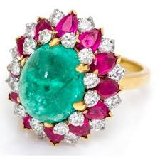 ruby emerald rings images Bulgari dolce vita emerald ruby diamond ring at 1stdibs jpg
