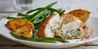 cuisiner des filets de poulet filets de poulet farcis à la ricotta et au pesto