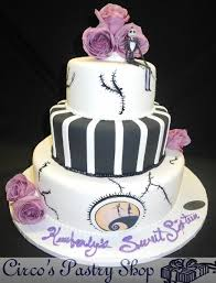 nightmare before christmas cake decorations italian bakery fondant wedding cakes pastries and