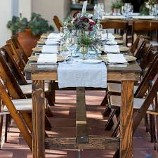 farm table with bench farm tables benches furniture archives cedar and pine events