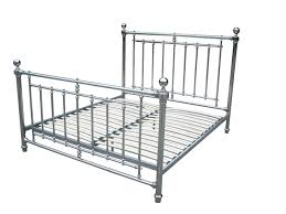 chrome bed frame queen size bed frame nickel chrome plated bed