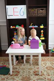 duplo preschool play table approved week 5 days of playful learning activities