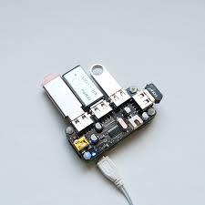 Usb Hub by Zero4u 4 Port Usb Hub For Raspberry Pi Zero V1 3 And W Uugear