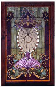 Antique Stained Glass Door by Antique American Stained Glass Door Attributed To The Ruby