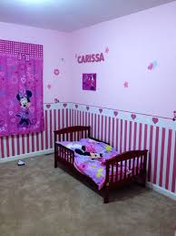Simple Minnie Mouse Baby Room Decor