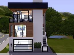 Home Plans For Small Lots Narrow Lot Contemporary House Plans New Homey Ideas Modern House