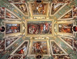 Ceiling Art Ceiling Decoration Palazzo Vecchio Florence Giorgio Vasari