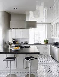 kitchen and floor decor black and white floors that make a statement photos