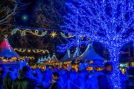 Blue Christmas Lights Decorations by Blue Christmas Blaues Weihnachten Augustusmarkt In Dresd U2026 Flickr