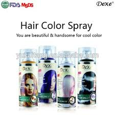 dexe permanent hair spray hair dye temporary washable hair color