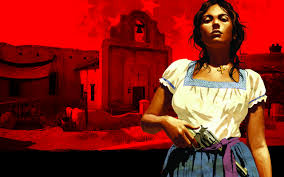 red dead redemption game wallpapers wallpapers luisa fortuna red dead redemption video games gun