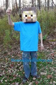 Steve Minecraft Halloween Costume Minecraft Costume Diy Steve Momma Da Boyz