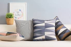 Modern Cushions For Sofas Scandinavian Decorative Cushion Covers Black And White Throw