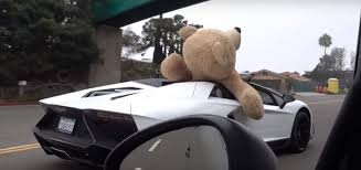 lamborghini aventador beverly teddy in lamborghini aventador roadster a