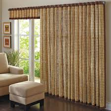 Bamboo Curtains For Windows Bamboo Curtain Panels Grommet Panel 42 Wx63 Or 84 L Curtains