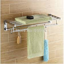 wholesale and retail promotion modern chrome foldable bathroom