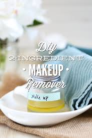 diy 2 ingredient makeup remover without coconut oil live simply