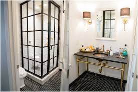 cream and black bathroom ideas
