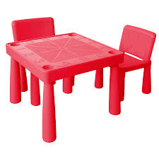 plastic table with chairs jolly kidz plastic table and chairs red toys r us australia