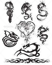 awesome black dragon tattoos ideas