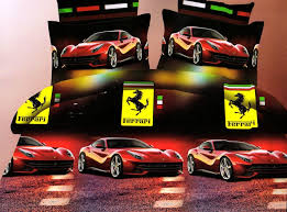 Ferrari Bed Buy Welhouse India Cotton Ferrari Design Superking Bedsheet With