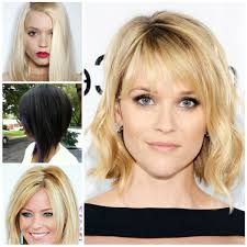 medium length haircuts with bangs 2017 trendy shoulder length