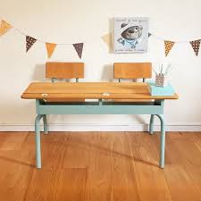 bureau enfant vintage chambre d enfant vintage jool décoratrice d intérieur