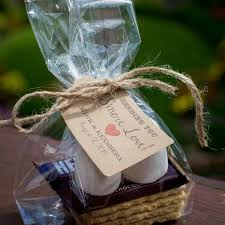 smores wedding favors 30 favor ideas from real weddings bridalguide