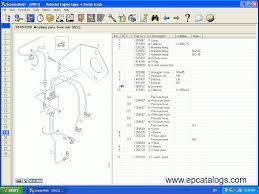 scania 2013 parts catalog service manuals repair manual engines
