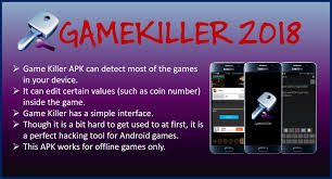 kiler apk killer gamekiller apk v5 25 no root 2018