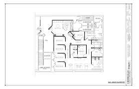 chiropractor office layout with rehab center and cryotherapy